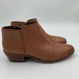 Sam Edelman Sz.7 Ankle Boot - Leather Upper